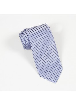 Light Blue Stripe Tie