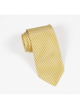 Yellow Stripe Tie