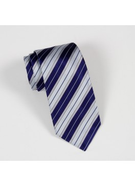 Blue/Light Blue Stripe Tie