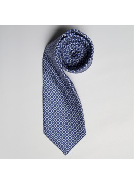 Blue/Blue Diamond Tie