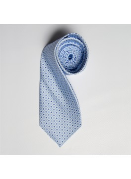 Light Blue/Blue Diamond Tie