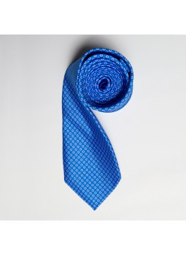 Light Blue/Blue Tiny Dot Skinny Tie