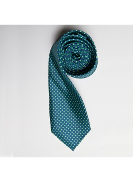 Green/Lime Tiny Dot Skinny Tie