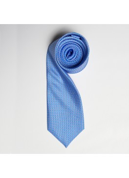 Light Blue/Blue Tiny Squares Skinny Tie
