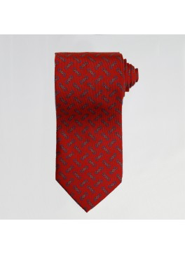 Red English Bit Tie
