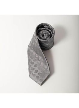 Grey Paisley Tie