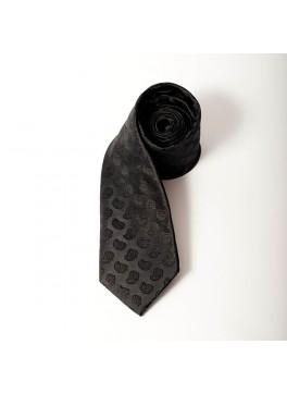Black Paisley Tie