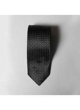 Black Box Check Tie