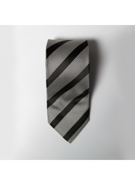 Black Stripe Tie