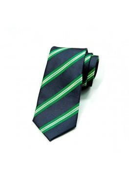 Navy/Green Stripe Tie