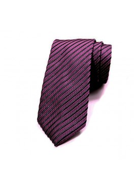Berry/Navy Stripe Tie