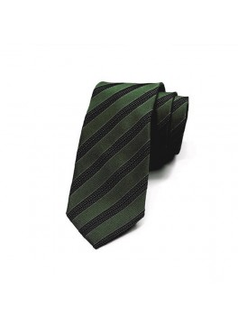 Green/Navy Stripe Tie