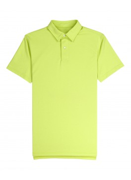 Tennis Club - Lime Green Lightweight Pique