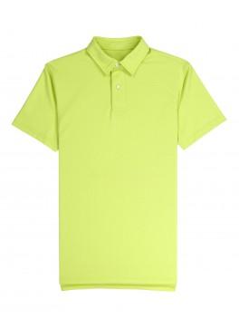 Tennis Club - Lime Green Lightweight Pique