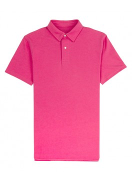 Tennis Club - Fuschia Lightweight Pique