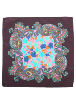 Paisley Floral Pocket Square