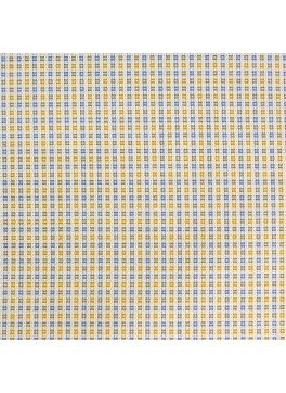 Yellow/Blue/White Textured Check (SV 513463-280)
