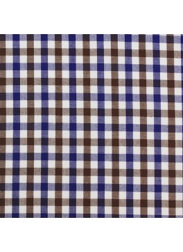 Brown/Blue/White Gingham (SV 513605-190)