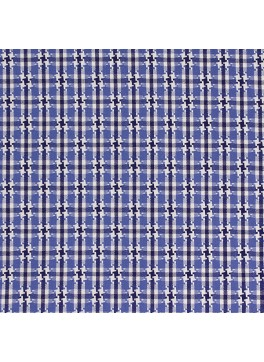 Blue/Navy/White Houndstooth Check (SV 513635-190)