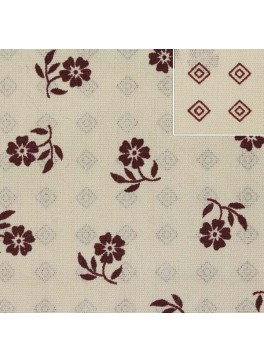 Cream/Red Floral Print (SV 514055B-200)