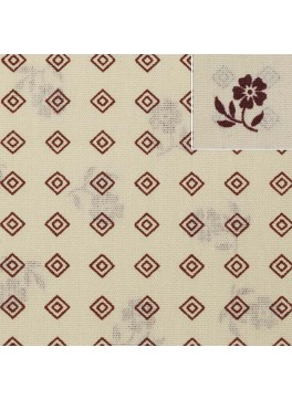Cream/Red Digital Print (SV 514055F-200)