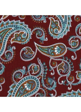 Red/Teal/Orange Paisley Print (SV 514113-200)