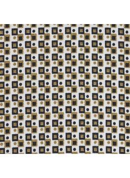 Tan/White/Brown Square Print (SV 514139-200)