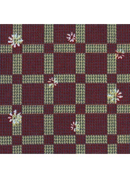 Red/Olive Floral Check Print (SV 514148-200)