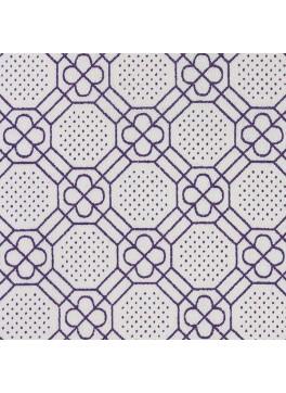 Purple/White Pattern Custom Shirt