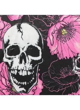 Pink Floral Skulls (SV700616)