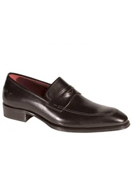 TOULON Updated Classic Apron-Front Penny Loafer