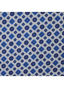 White/Blue Deco (Y0351A3)