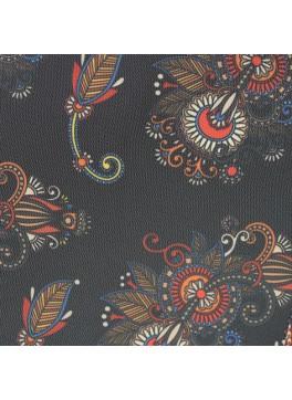 Black Bold Paisley (Y10982A)