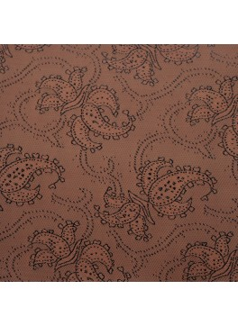 Brown Paisley Jacquard (YZ002)