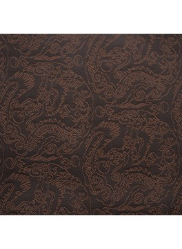 Dark Brown Paisley Jacquard (YZ021)