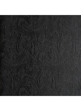 Black Paisley Jacquard (YZ023)