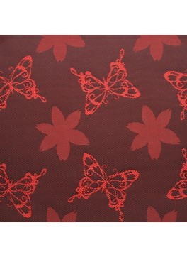 Red Butterfly Jacquard (YZ032)