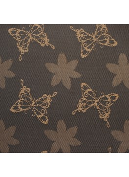Brown Butterfly Jacquard (YZ037)