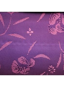 Magenta Flower Jacquard (YZ071)