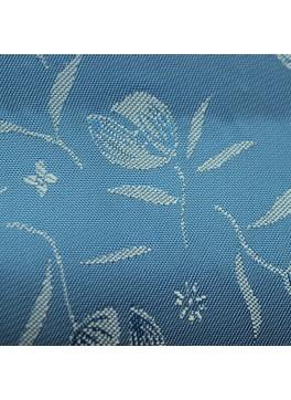 Light Blue Flower Jacquard (YZ073)