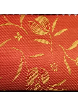 Orange Flower Jacquard (YZ084)