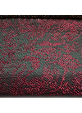 Red Green Paisley Jacquard (YZ093)