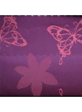 Magenta Butterfly Jacquard (YZ115)