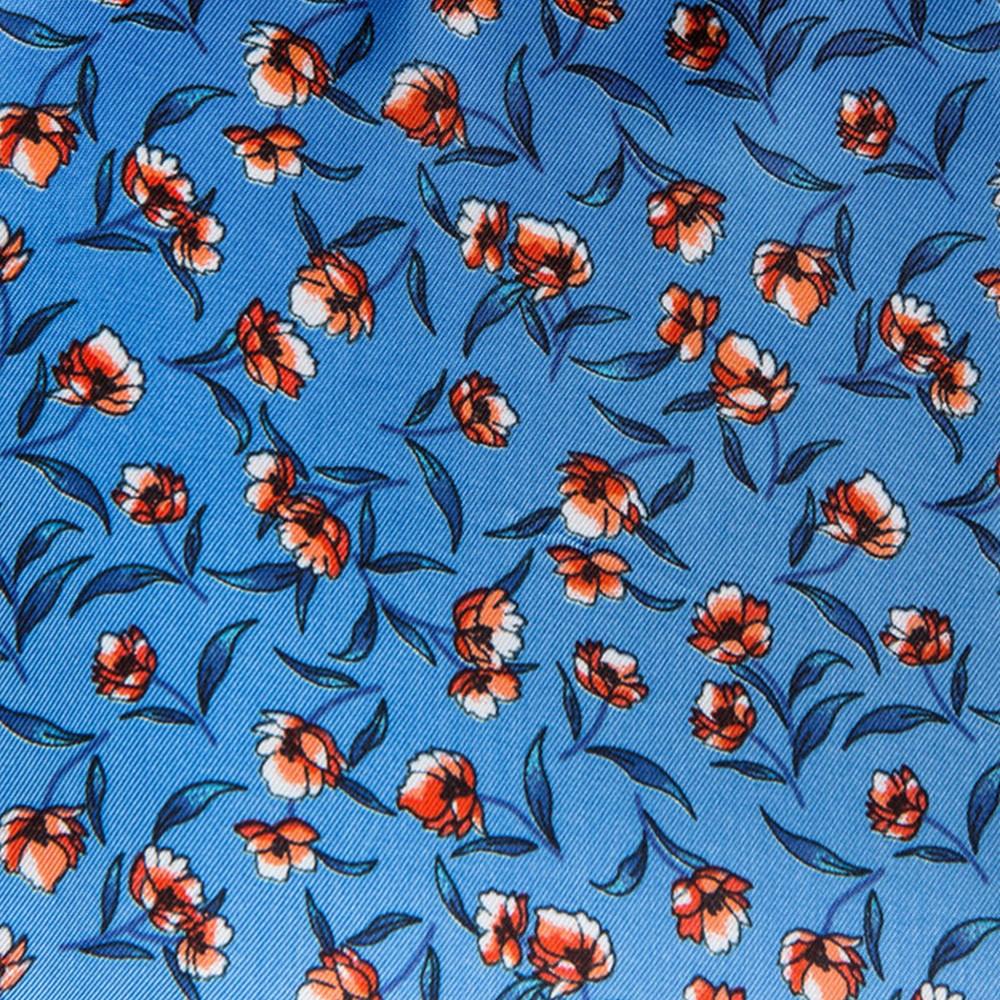 Light Blue/Orange Floral (GLD360007)