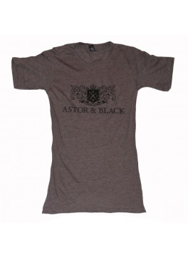 Astor & Black Black on Brown Crew
