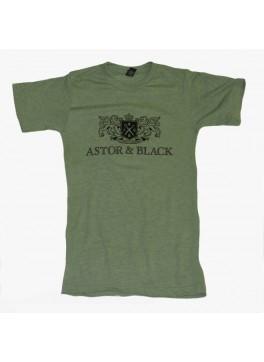 Astor & Black Black on Green Crew