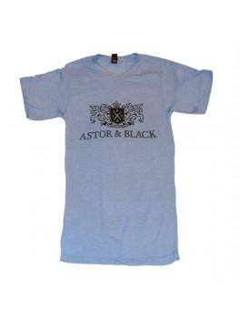 Astor & Black Black on Blue Crew