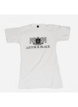 Astor & Black Black on White Crew
