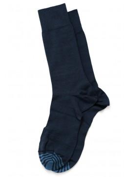 Solid Mid-Calf Dress Socks
