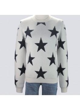 Ladies Star Sweater